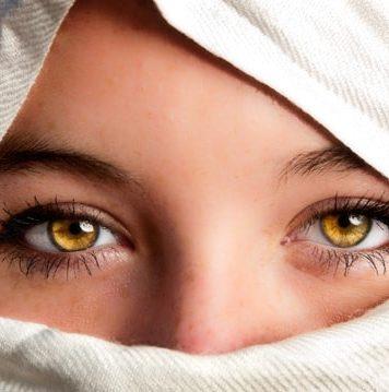 amber eye color