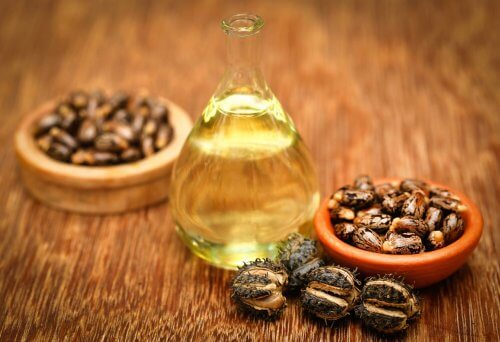 Castor oil and vitamin E treatment