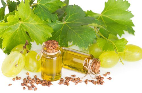 Treatment with Grapeseed Oil and Almonds