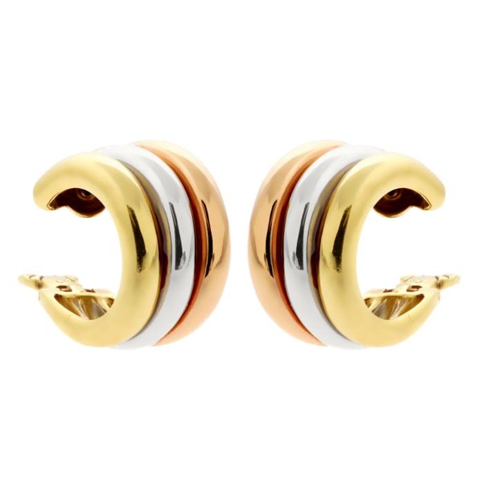 cartier-trinity-gold-hoop-earrings
