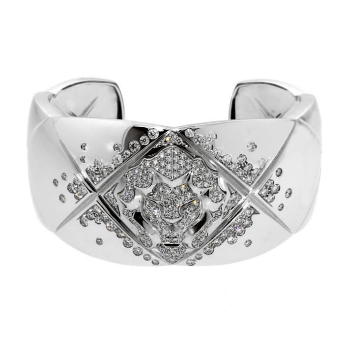 oco Crush Diamond Cuff Bangle Bracelet